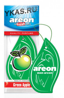 "Осв.возд. Areon Сухой MON CLASSIC ""Елочки""  Green Apple"